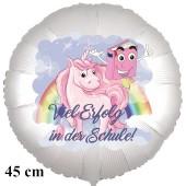 Viel Erfolg in der Schule Luftballon Einschulung