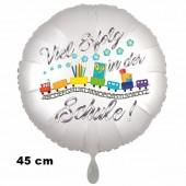 Viel Erfolg in der Schule, Zug, Luftballon