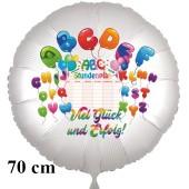 ABC Luftballon Einschulung